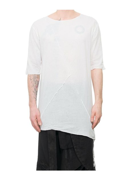 LA HAINE INSIDE US LONG SHIRT WITH BUTTONED SIDE