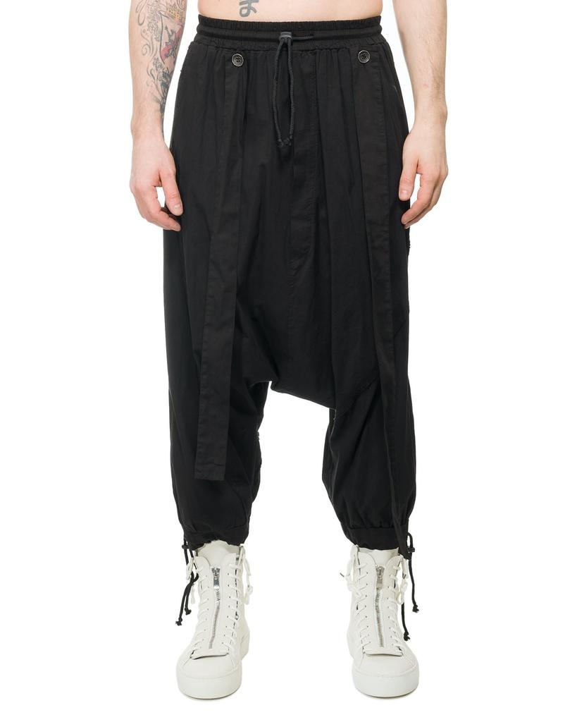 DROP CROTCH CONVERTIBLE PANT WITH STRAPS