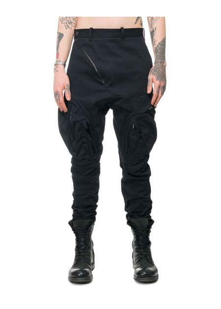 LEON EMANUEL BLANCK DISTORTION MUSCLE POCKET PANTS
