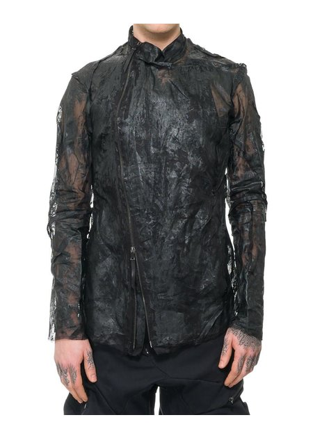LEON EMANUEL BLANCK DISTORTION RESIN COATED FENCING JACKET