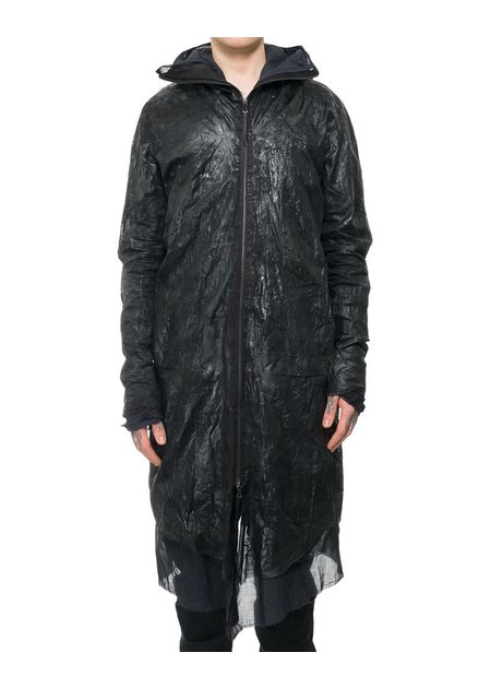 LEON EMANUEL BLANCK RESIN COATED FORCED PARKA