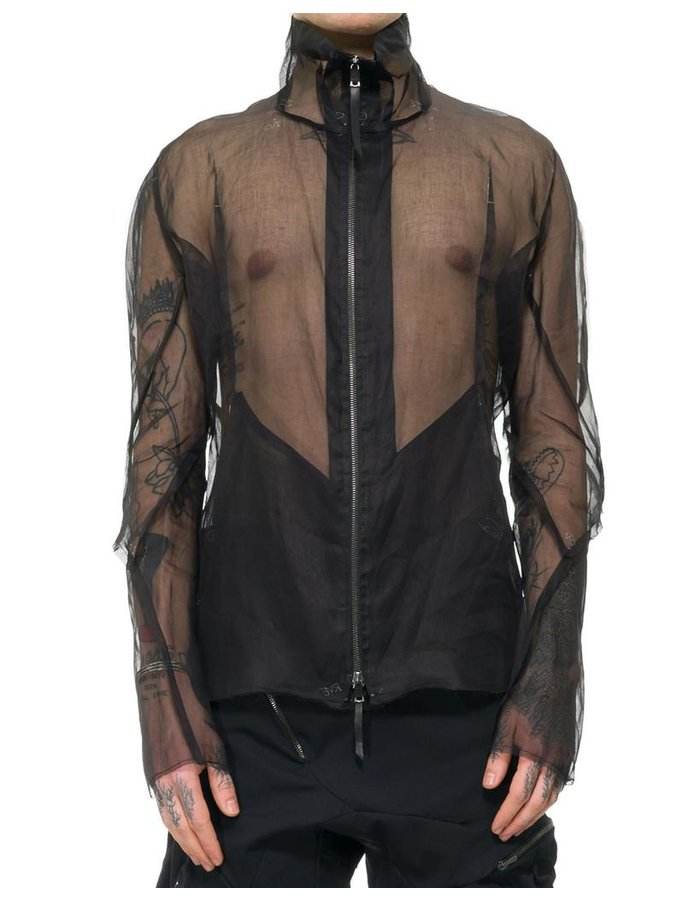 LEON EMANUEL BLANCK REVERSED SEAM FORCED JACKET