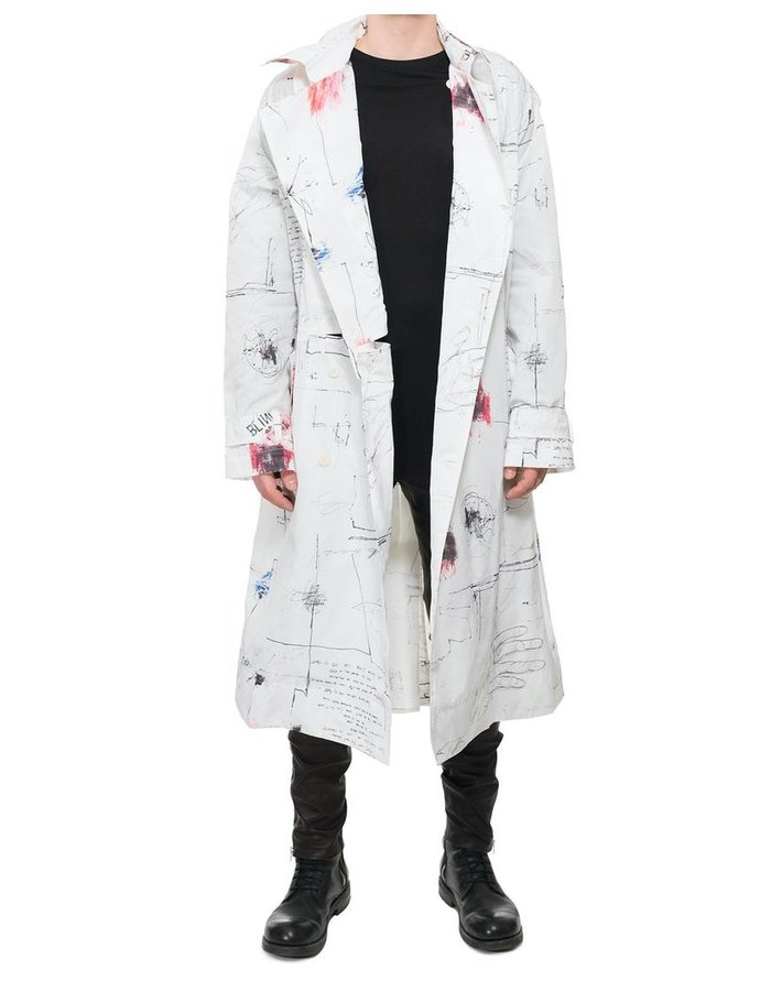 ISABEL BENENATO GRAFFITi NYLON COAT
