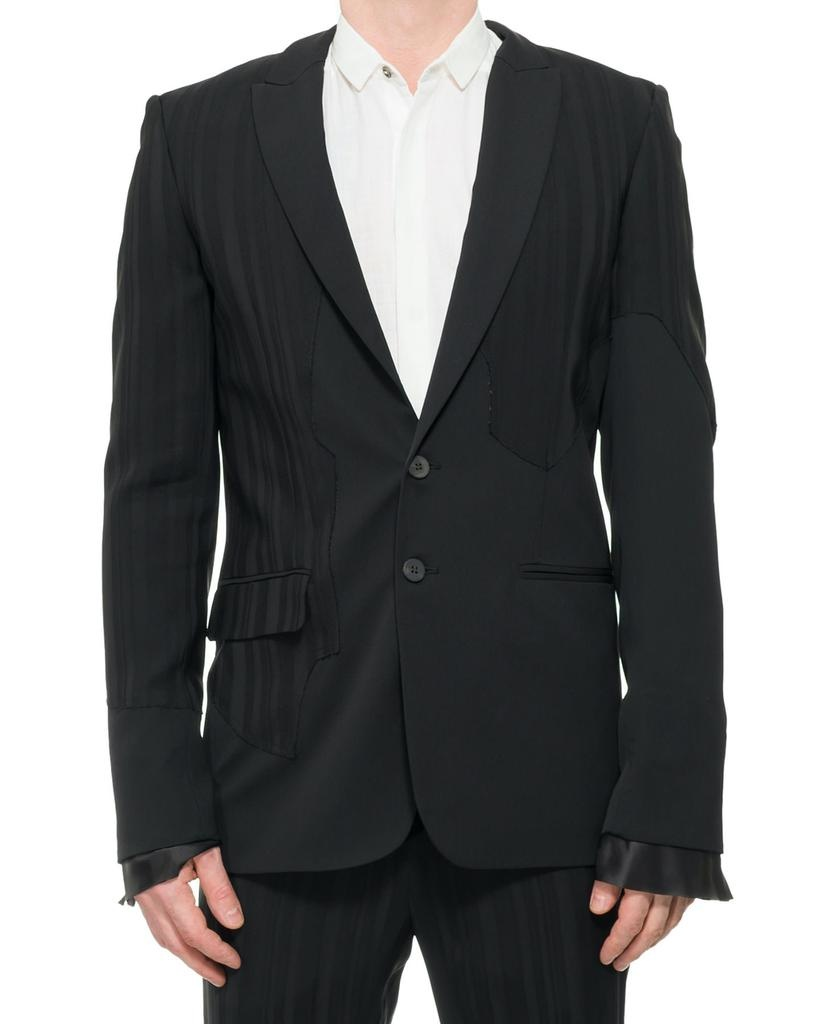 COMBINATON JACKET WITH LINING DETAILS