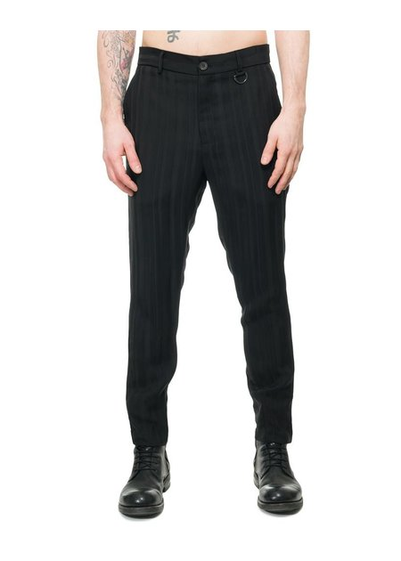 ISABEL BENENATO VISCOSE SLIM FIT PANT