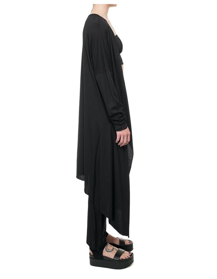 STUDIO B3 COTTON & MODAL LONG CARDIGAN