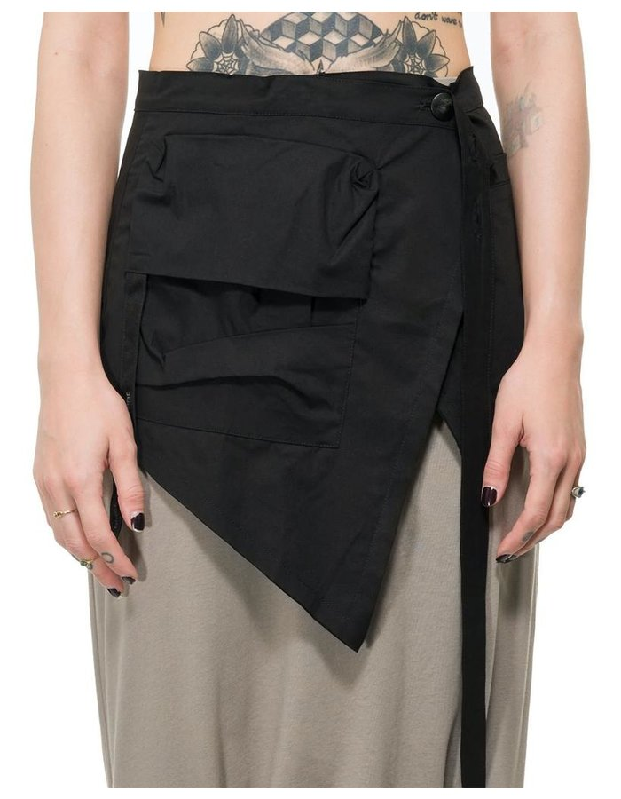 STUDIO B3 ASYMMETRIC WRAP BELT W/ POCKETS