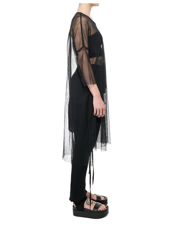 STUDIO B3 GAUZE TUNIC WITH POCKET