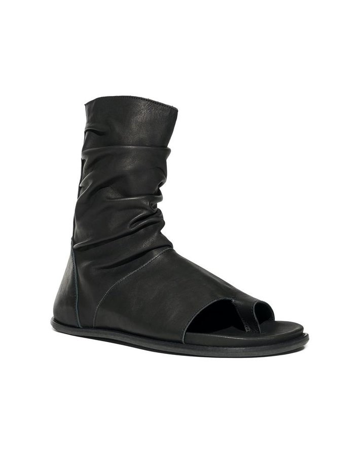 NOSTRA SANTISSIMA OPEN TOE BOOT