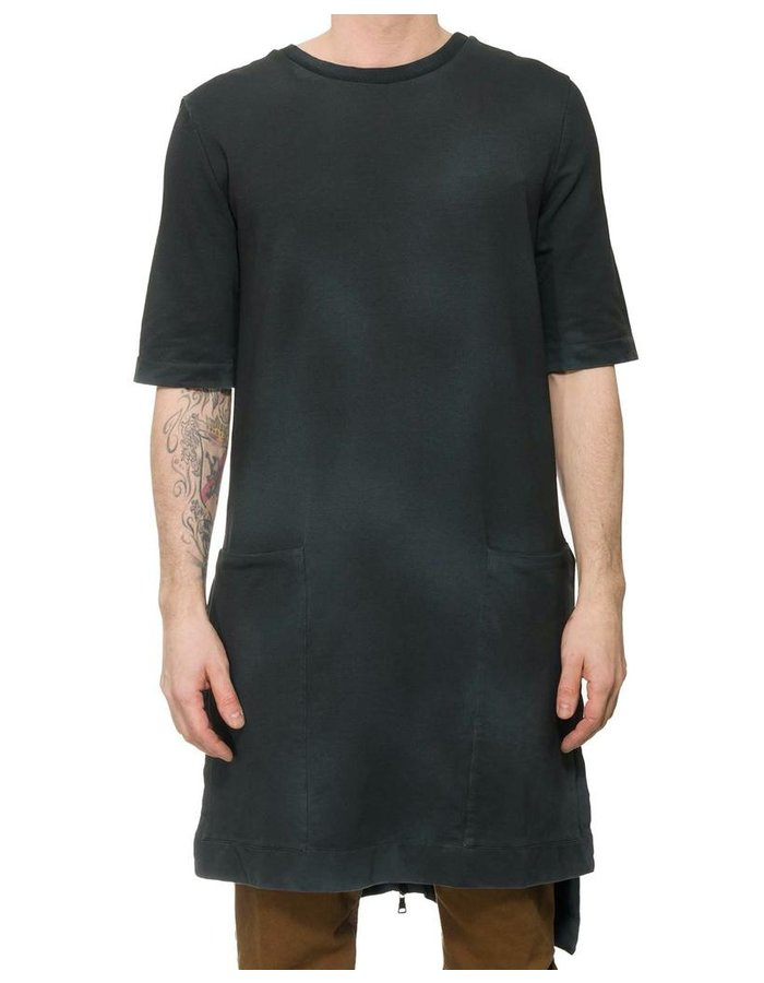 NOSTRA SANTISSIMA LONG TUNIC WITH ZIPPERED BACK