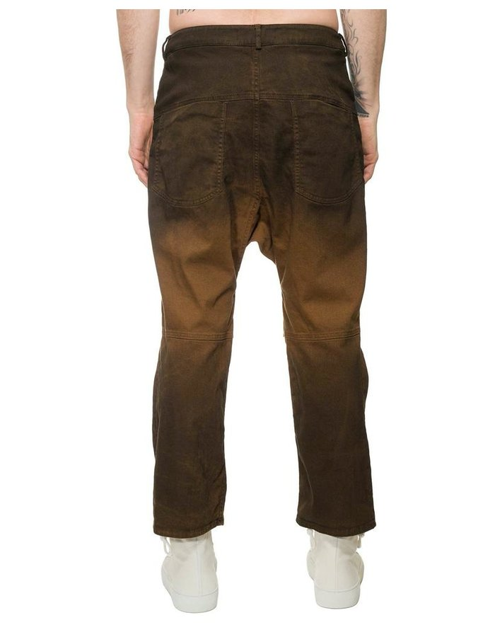NOSTRA SANTISSIMA RELAXED CUFFED JEANS