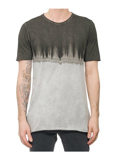 THOM KROM DIP-DYE COTTON T-SHIRT