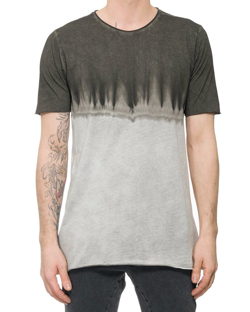 DIP-DYE COTTON T-SHIRT