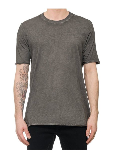 THOM KROM COLD DYE GREY T-SHIRT