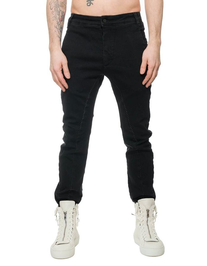 THOM KROM TK STRETCH COTTON PANT W/ STITCH DETAIL