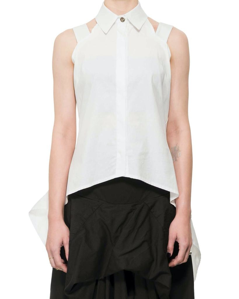 SLEEVELESS TAIL SHIRT