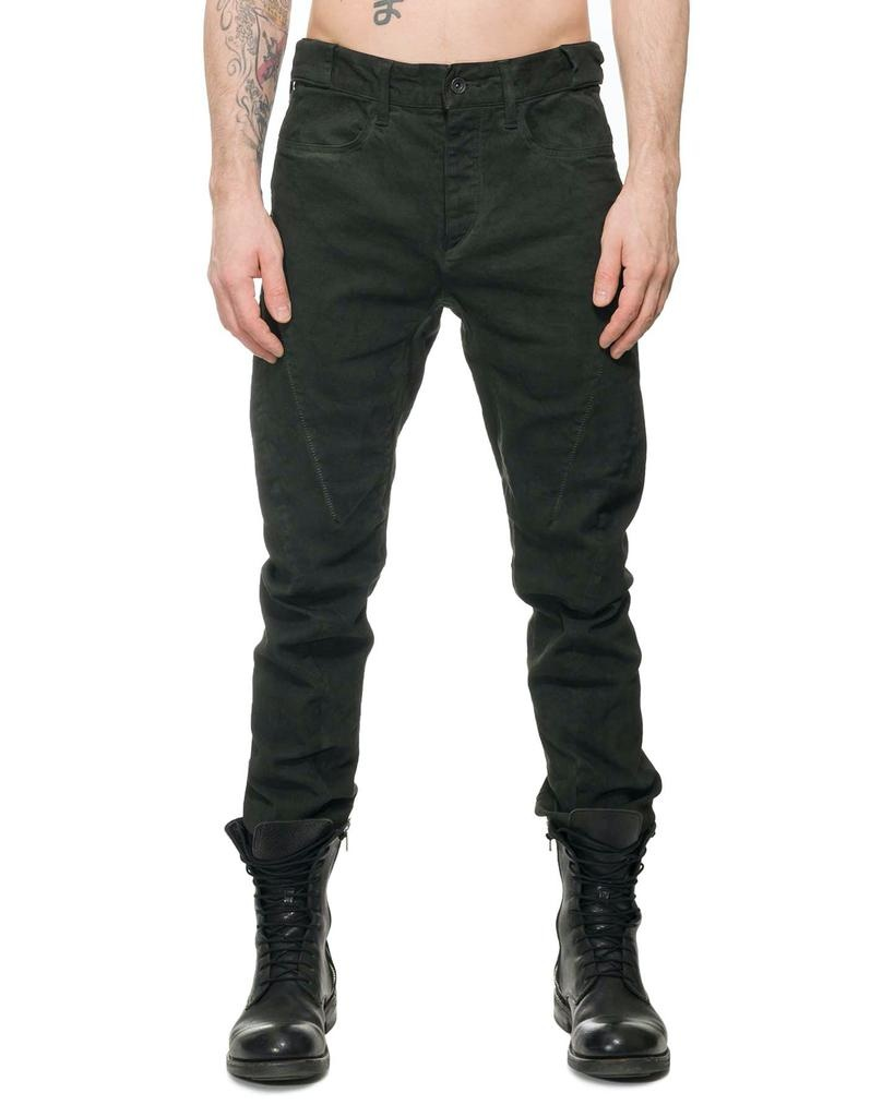 OVER COLD DYED CURVE SLIM PANTS