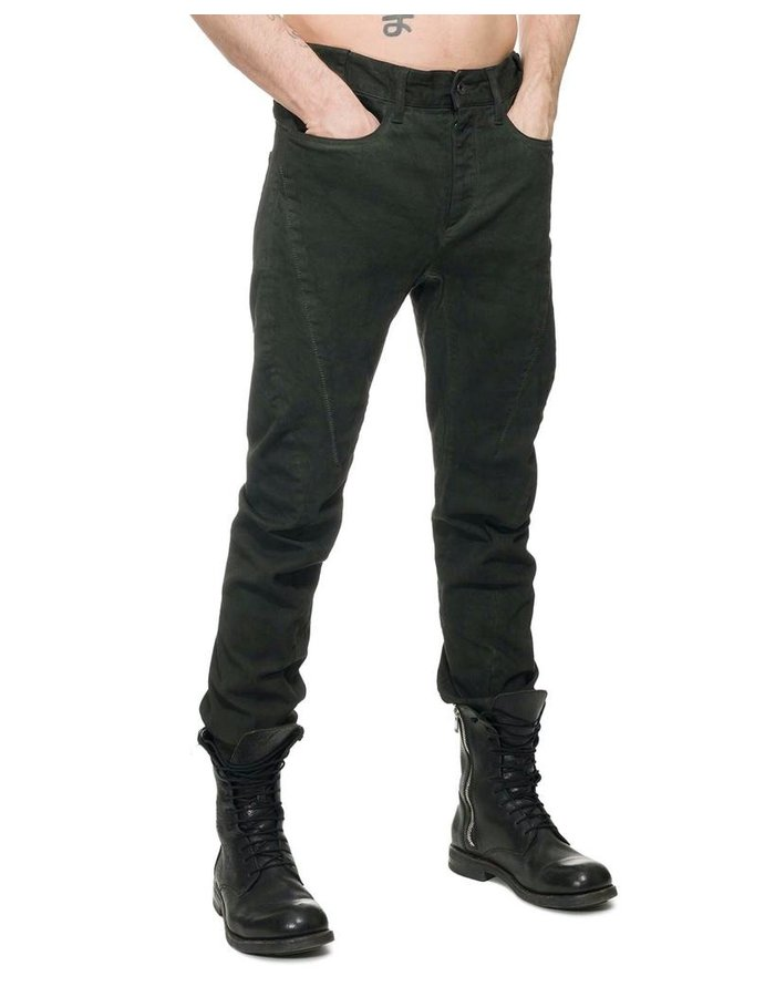D. HYGEN OVER COLD DYED CURVE SLIM PANTS