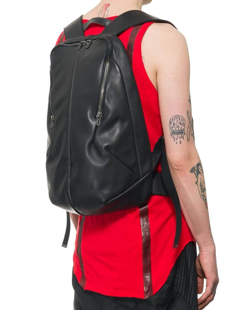 HORSE LEATHER VEST W/ BACKPACK