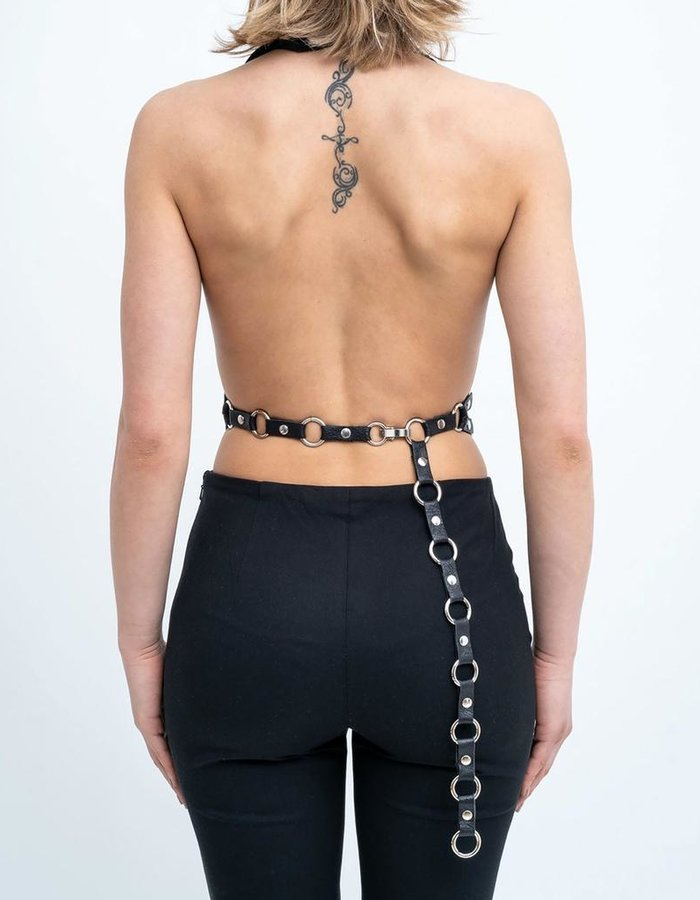 ZORA ROMANSKA METAL RING BELT