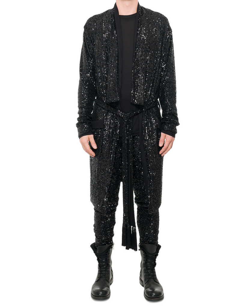 SEQUIN ROBE M