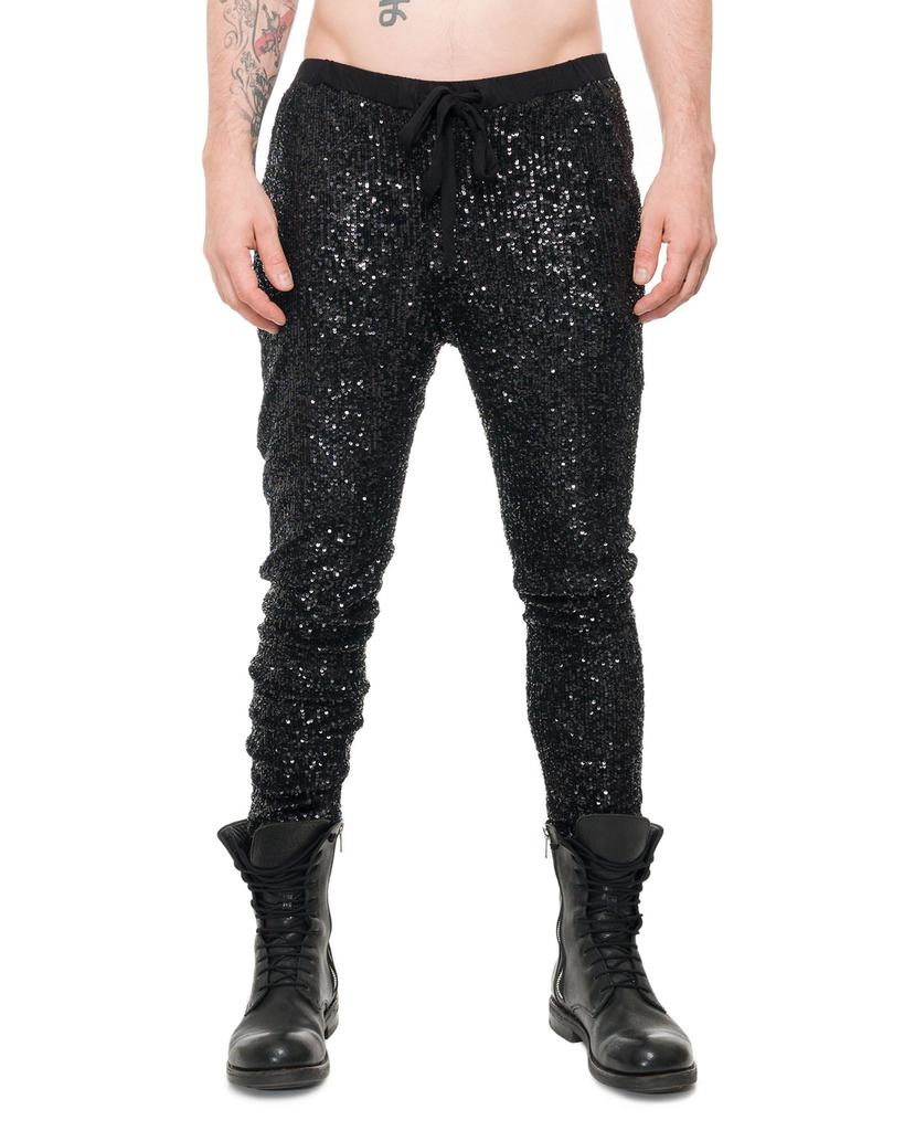 SEQUIN PANTS M