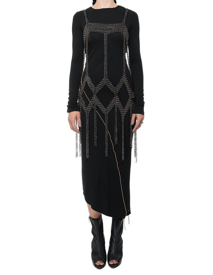 DAVID'S ROAD CHAIN DRESS MINI