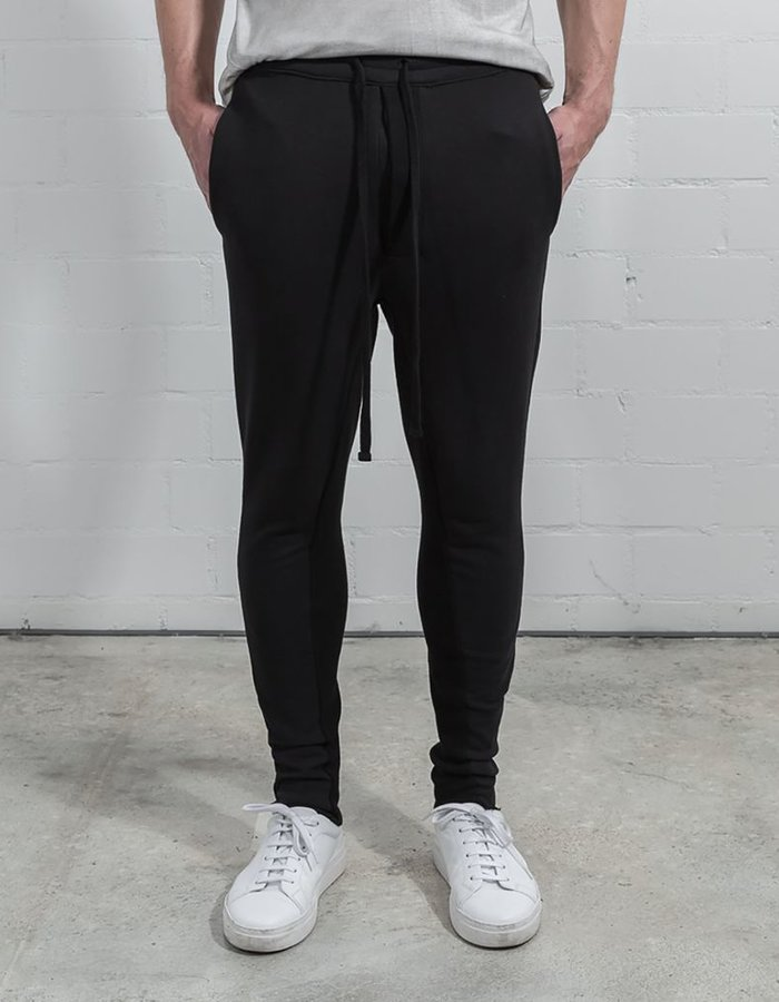 THOM KROM LOW CROTCH SWEAT PANTS - BLK
