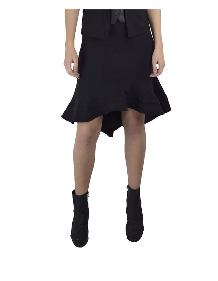 DAVID'S ROAD SKIRT WITH STRUCTURED BOTTOM