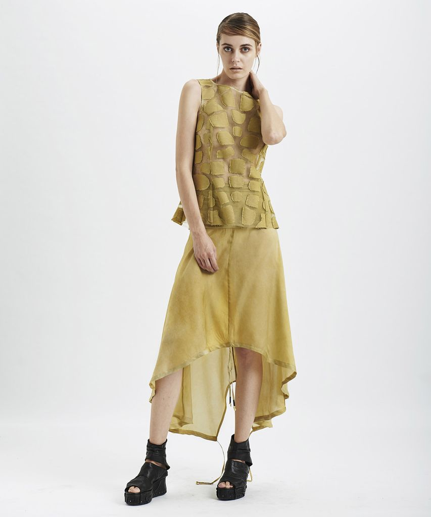 CARAPACE SHELL TOP :SULPHUR