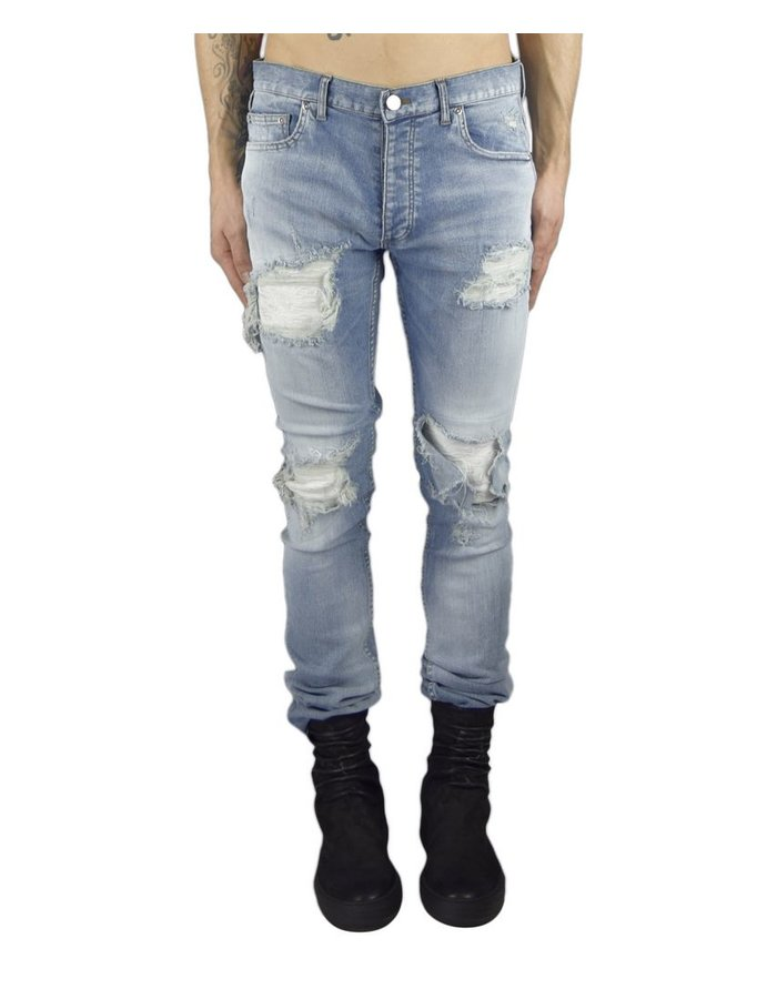 FAGASSENT AXCEL BLUE DESTROYED JEAN