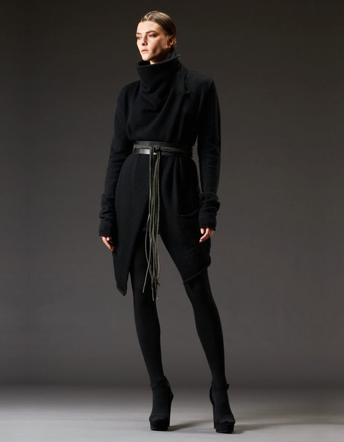 LARS ANDERSON DRAPED NECK JACKET