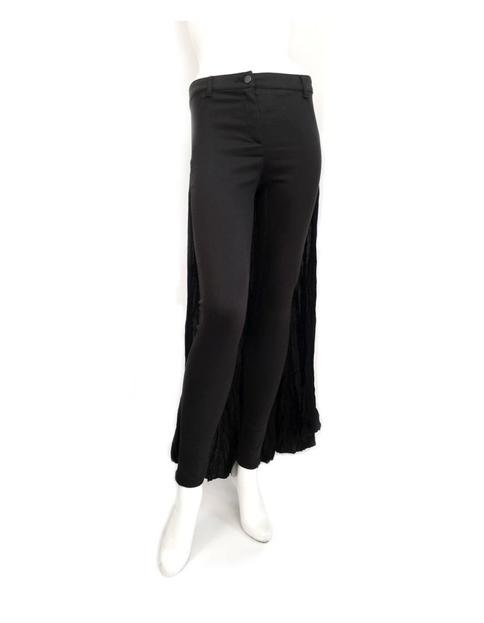 ANDREA YA'AQOV PANT WITH SKIRT BACK