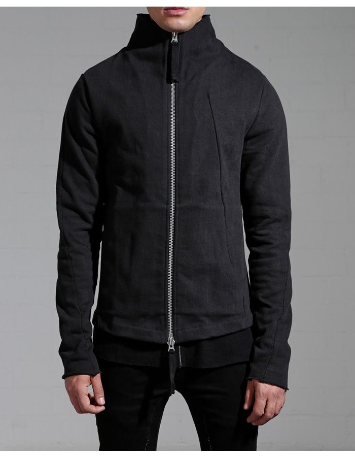 THOM KROM HIGH COLLAR ZIP UP JACKET