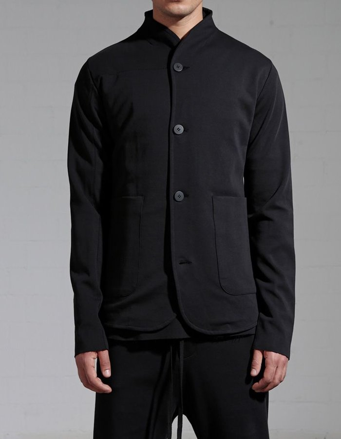 THOM KROM HIGH COLLAR COTTON BLAZER