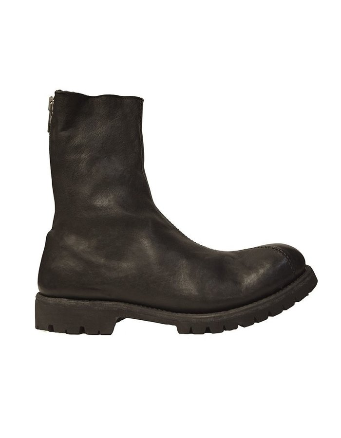 10SEI0OTTO ORWELL BOOTS CURVED ZIP :SHERLING LINED