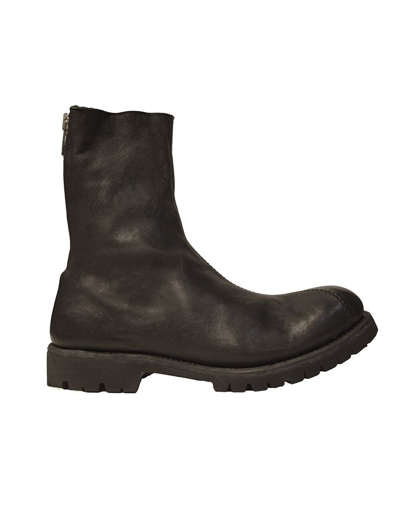 ORWELL BOOTS CURVED ZIP :SHERLING LINED