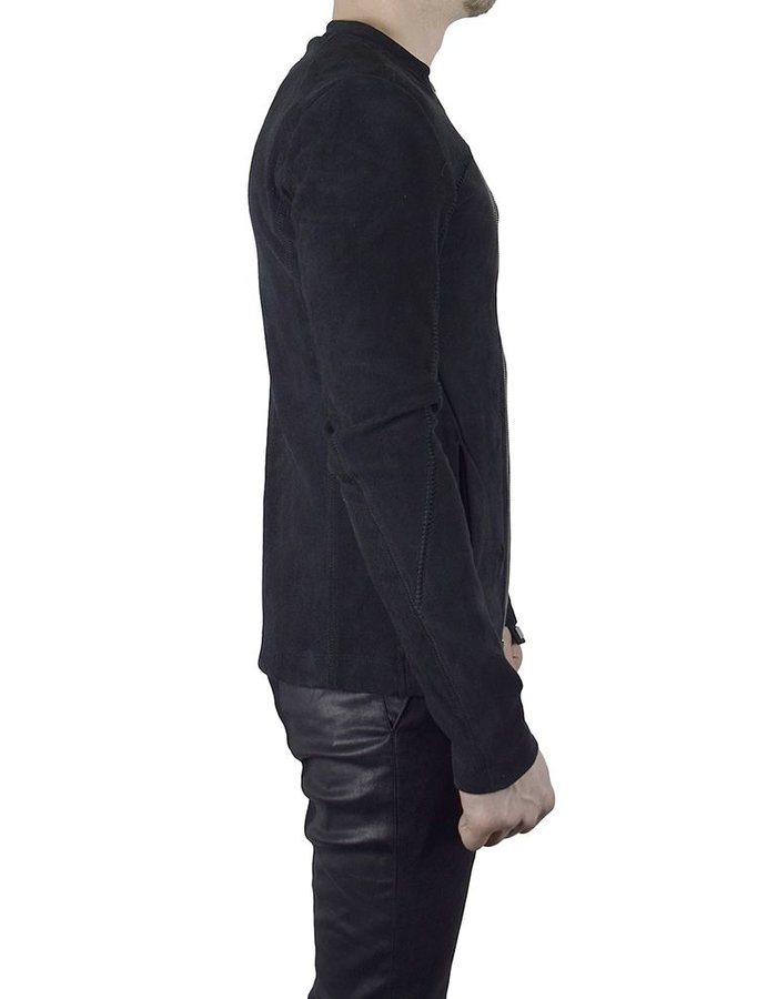10SEI0OTTO STRETCH LAMB ZIP FRONT JACKET