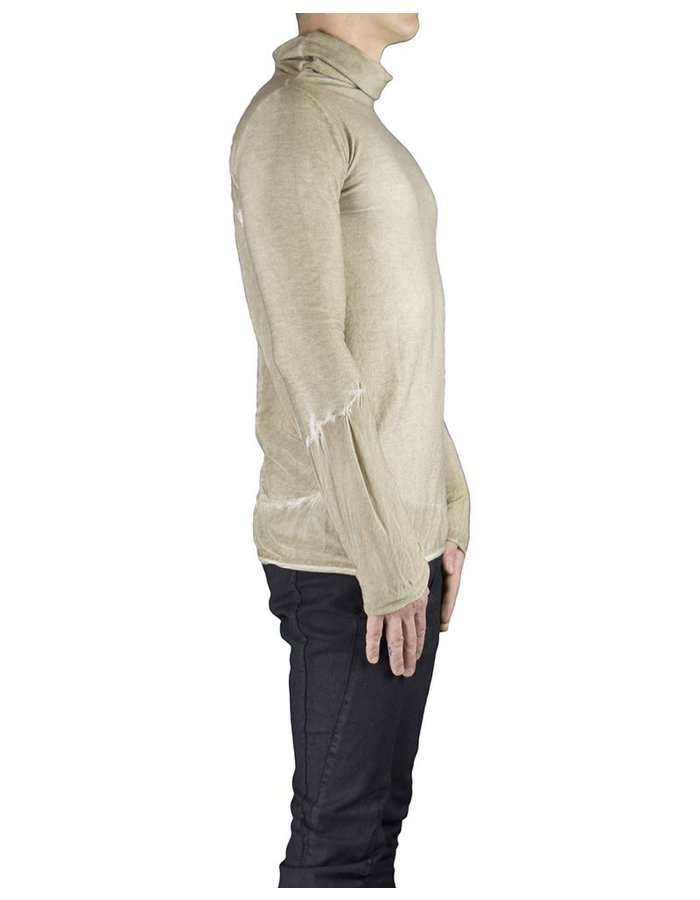 ANDREA YA'AQOV TURTLE NECK WITH BACK PANELS