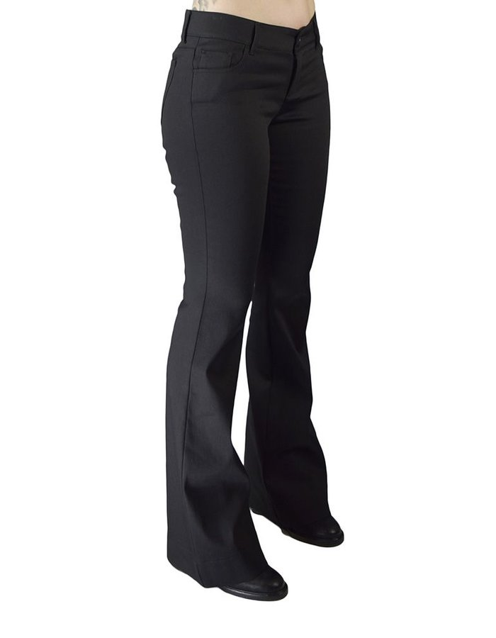 ANDREA YA'AQOV STRETCH FLARE PANTS