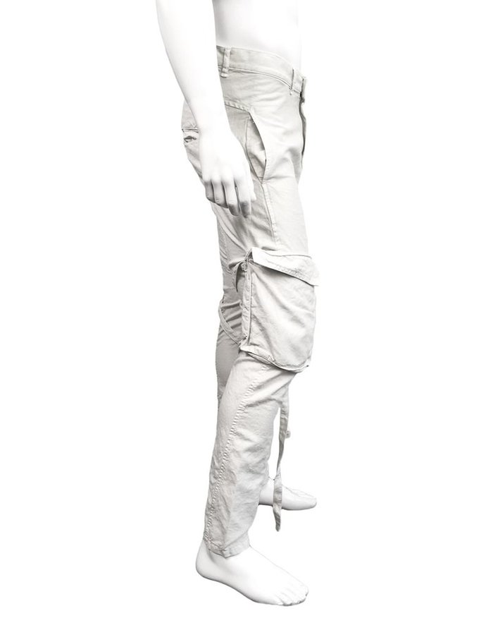 ANDREA YA'AQOV COTTON LINEN PANT WITH DETACHABLE POCKET IVORY