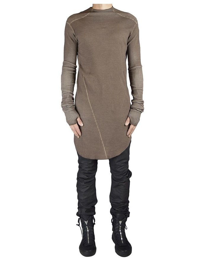 ARMY OF ME RIBBED TURTLE NECK JERSEY : RUST