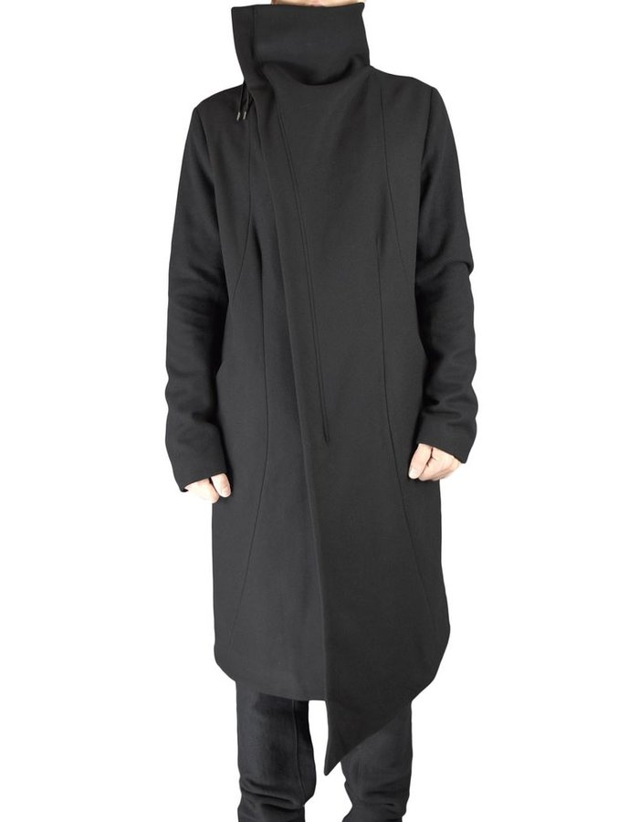 ARMY OF ME ASSYMETRIC ZIP UP COAT 46