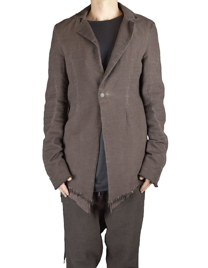 ARMY OF ME DOUBLE LAYERED COTTON BLAZER