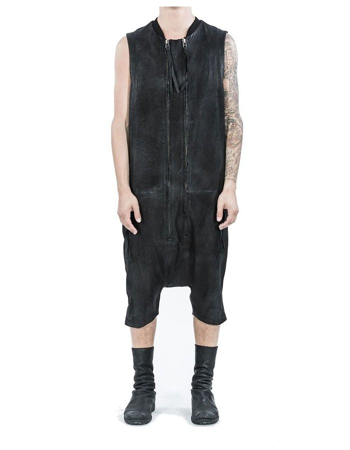 ARMY OF ME LEATHER JUMPSUIT