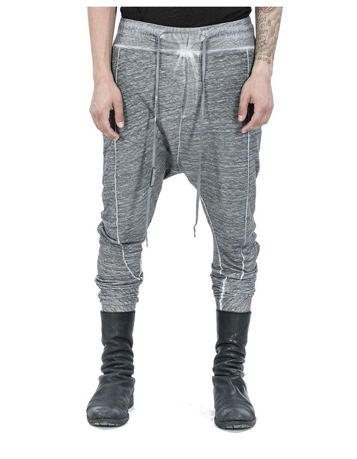 ARMY OF ME LINEN JERSEY SKINNY TROUSERS CLAY
