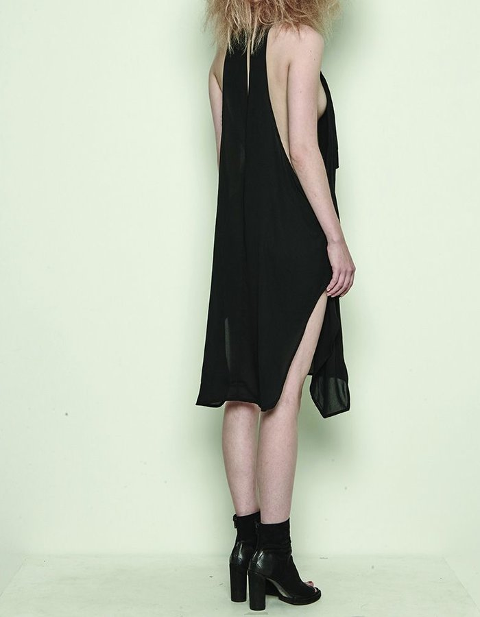 BARBARA I GONGINI SLEEVELESS DRESS