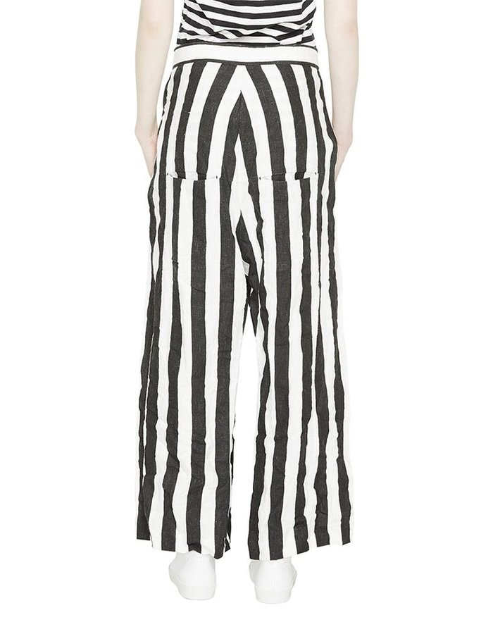BARBARA I GONGINI TAILORED STRIPED TROUSERS