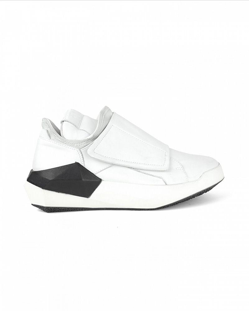 DAYMON CALF SNEAKER WHITE /WHITE SOLE