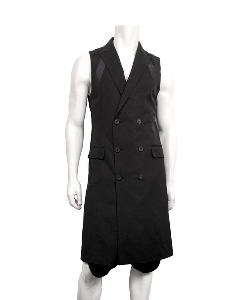LONG SUITING VEST